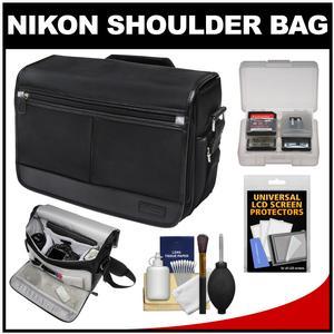 Nikon DSLR Camera/Tablet Messenger Shoulder Bag with Accessory Kit