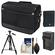 Nikon DSLR Camera/Tablet Messenger Shoulder Bag with EN-EL14 Battery & Charger + Tripod + Kit for Df, D3300, D3400, D5300, D5500, D5600