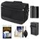Nikon DSLR Camera/Tablet Messenger Shoulder Bag with EN-EL15 Battery & Charger + Kit for D7200, D7100, D610, D800, D810