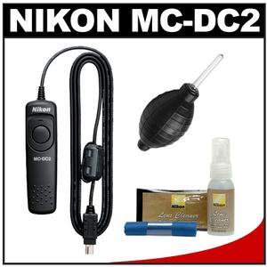 Cheap Offer Nikon MC-DC2 Wired Remote Shutter Release Cord for D3200 D3300 D5300 D5500 D7100 D7200 D610 D750 Df with Nikon Cleaning Kit Before Too Late
