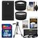 Essentials Bundle for Nikon 1 AW1, J3 & S1 Digital Camera and 10-30mm Lens with EN-EL20 Battery + 32GB Card + 3 UV/CPL/ND8 Filters + Tripod + Tele/Wide Lens Kit