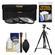 Essentials Bundle for Nikon 55-200mm f/4-5.6G VR DX AF-S ED Zoom-Nikkor Lens with 3 (UV/CPL/ND8) Filters + Tripod + Accessory Kit