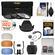 Essentials Bundle for Nikon D3200 D3300 D5200 D5300 D5500 Camera & 18-55mm VR Lens with 3 UV/CPL/ND8 Filters + Lens Hood + 4 Pop-Up Flash Diffusers + Reader + Kit