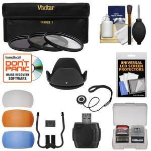 Buy Now Essentials Bundle for Nikon D5300 D5500 D7100 D7200 DSLR Camera & 18-140mm VR Lens with 3 UV/CPL/ND8 Filters + Lens Hood + 4 Pop-Up Flash Diffusers + Reader + Kit Before Special Offer Ends