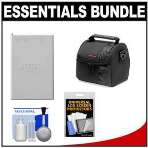 Essentials Bundle for Nikon Coolpix P520 P530 Camera with EN-EL5 Battery + Case + Accessory Kit