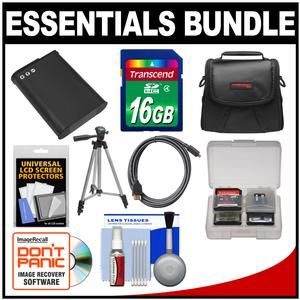 Essentials Bundle for Nikon Coolpix B700 P600 P610 Digital Camera with 16GB Card and Case and EN-EL23 Battery and Tripod and HDMI Cable and Accessory Kit