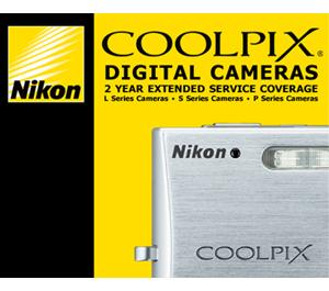 Nikon 2 YR Digital Coolpix Camera Extended Warranty