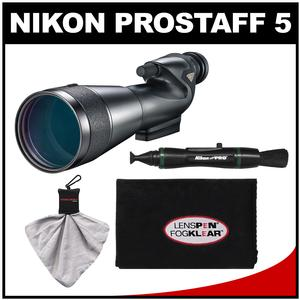 Nikon 20-60x82mm Prostaff 5 Straight Body Fieldscope Spotting Scope with Eyepiece with LensPen and Cleaning Cloth