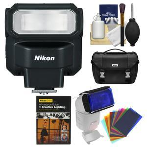 Nikon SB-300 AF Speedlight Flash with Case + Lighting DVD + Flash Filters + Kit