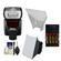 Nikon SB-700 AF Speedlight Flash with Softbox + Bounce Reflector + (4) Batteries & Charger + Accessory Kit