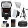 Nikon SB-700 AF Speedlight Flash with Softbox + Bounce Reflector + Batteries & Charger + Case + Tripod + Accessory Kit