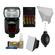 Nikon SB-910 AF Speedlight Flash with Batteries & Charger + Softbox + Reflector + Cleaning Kit