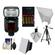 Nikon SB-910 AF Speedlight Flash with Batteries & Charger + Softbox + Reflector + Tripod + Cleaning Kit