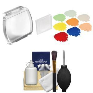 Nikon SJ-5 and SZ-4 Complete Speedlight Color Filter and Holder Set for SB-5000 Flash with Cleaning Kit