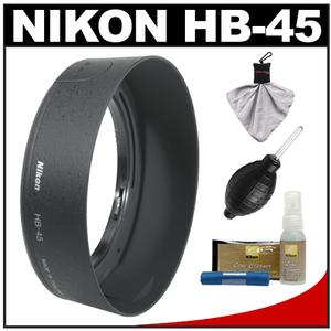 Nikon HB-45 Bayonet Lens Hood for 18-55mm VR G DX AF-S with Cleaning Kit