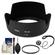 Nikon HB-69 Bayonet Lens Hood for 18-55mm G VR II DX AF-S with UV FIlter + Accessory Kit