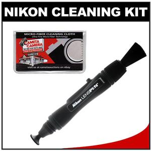 Review Nikon Digital Camera and Lens Cleaning Kit with Nikon Lens Pen & Cameta Microfiber Cloth Before Special Offer Ends