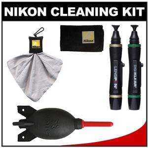 Nikon Digital Camera and Lens Cleaning Kit with Giottos Blower + Cleaner Kit