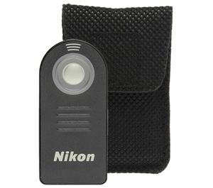 Nikon ML-L3 Wireless Infrared Shutter Release Remote Control for D600  D7000  D5200  D5100  D5000  D3200  Nikon 1 V2  V1  J1  J2 & Coolpix P7100  P7700
