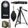 Nikon ML-L3 Wireless Infrared Shutter Release Remote Control for D3300, D3400, D5300, D5500, D7100, D7200, D610, D750, Df + Tripod Kit