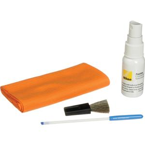 Nikon Optics Maintenance Cleaning Kit - Brush Solution Cloth Grabber -