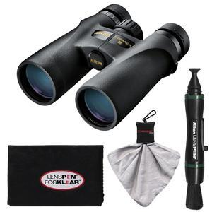 Nikon Monarch 3 8x42 ATB Waterproof-Fogproof Binoculars with Case and Cleaning and Accessory Kit