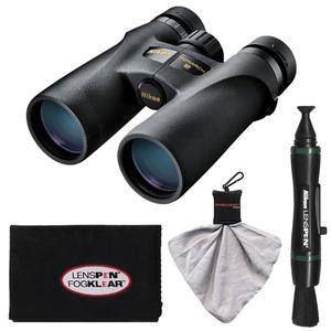 Nikon Monarch 3 10x42 ATB Waterproof-Fogproof Binoculars with Case and Cleaning and Accessory Kit