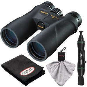 Nikon Prostaff 5 10x42 ATB Waterproof - Fogproof Binoculars with Case + Cleaning + Accessory Kit