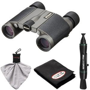 Nikon Premier LX L 8x20 Waterproof-Fogproof Binoculars with Case with Nikon LensPen and Cleaning Kit