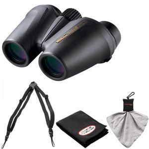 Nikon Prostaff 10X25 Waterproof-Fogproof Binoculars with Case and Easy Carry Harness and Cleaning Cloth Kit