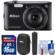 Nikon Coolpix A300 Wi-Fi Digital Camera (Black) with Case + 16GB Card + Grip + Cleaning Kit