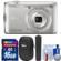 Nikon Coolpix A300 Wi-Fi Digital Camera (Silver) with Case + 16GB Card + Grip + Cleaning Kit