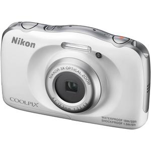 Click here for Nikon Coolpix S33 Shock & Waterproof Digital Camera (White) prices