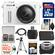 Nikon 1 AW1 Shock & Waterproof Digital Camera Body with AW 11-27.5mm Lens (White) with 32GB Card + Case + Battery + Tripod Kit