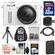 Nikon 1 AW1 Shock & Waterproof Digital Camera Body with AW 11-27.5mm Lens (White) with 32GB Card + Sling Backpack + Battery + Flex Tripod Kit