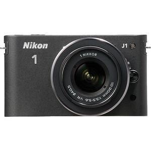 Nikon 1 J1 Digital Camera Body with 10-30mm VR Lens (Black) - Factory Refurbished includes Full 1 Year Warranty at Sears.com