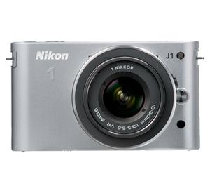 Nikon 1 J1 Digital Camera Body with 10-30mm VR Lens (Silver) at Sears.com