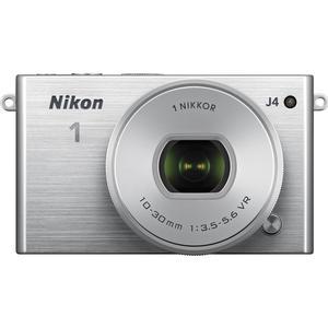 Nikon 1 J4 Digital Camera & 10-30mm PD Zoom Lens (Silver)