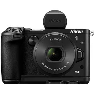 Nikon 1 V3 Digital Camera with 10-30mm PD Lens Viewfinder & Grip