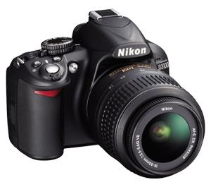 Nikon D3100 Digital SLR Camera And 18-55mm G VR DX AF-S Zoom Lens - Factory Refurbished includes Full 1 Year Warranty