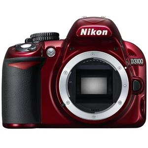 Nikon D3100 Digital SLR Camera Body (Red) - Factory Refurbished includes Full 1 Year Warranty at Sears.com