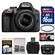 Nikon D3300 Digital SLR Camera & 18-55mm VR DX II AF-S Lens (Black) - Factory Refurbished with 16GB Card + Case + Filter + Accessory Kit