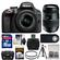 Nikon D3300 Digital SLR Camera & 18-55mm VR DX II AF-S Lens (Black) - Factory Refurbished with Tamron 70-300mm Di Zoom Lens + 16GB Card + Case + Tripod + Kit