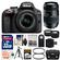 Nikon D3300 Digital SLR Camera & 18-55mm VR DX II AF-S Lens (Black) - Factory Refurbished with Tamron 70-300mm Di Lens + 32GB Card + Case + Tripod + Tele/Wide Lens Kit