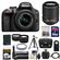 Nikon D3300 Digital SLR Camera & 18-55mm G VR DX II AF-S Zoom Lens (Black) with 55-200mm VR II Lens + 64GB Card + Battery + Case + Grip + Tele/Wide Lens Kit