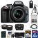 Nikon D3300 Digital SLR Camera & 18-55mm G VR DX II AF-S Zoom Lens (Grey) with 32GB Card + Battery + Case + Tripod + Tele/Wide Lens Kit