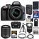 Nikon D3300 Digital SLR Camera & 18-55mm G VR DX II AF-S Zoom Lens (Grey) with 55-200mm VR II Lens + 32GB Card + Battery & Charger + Case + Flash + Tripod Kit