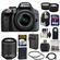 Nikon D3300 Digital SLR Camera & 18-55mm G VR DX II AF-S Zoom Lens (Grey) with 55-200mm VR II Lens + 64GB Card + Backpack + Battery & Charger + Tele/Wide Lens Kit