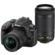 Nikon D3400 Digital SLR Camera & 18-55mm VR & 70-300mm DX AF-P Lenses (Black)
