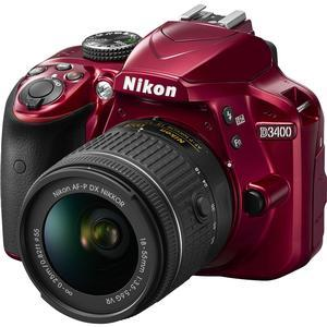 Nikon D3400 Digital SLR Camera & 18-55mm
